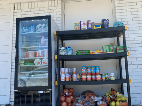 The Sunny South Weekly Food Distribution
