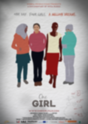 One Girl Poster No Laurels.png