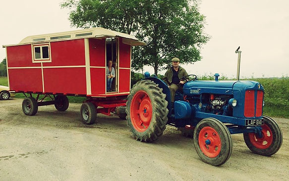 Shane and Donna Portman of The LoveUKeira Tractor Road Trip Team