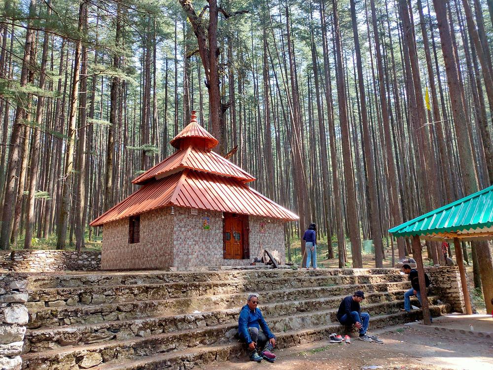 Koneshwar Mahadev Temple Devalsari. Shiva Temple Uttarakhand. Naag Tibba trek.