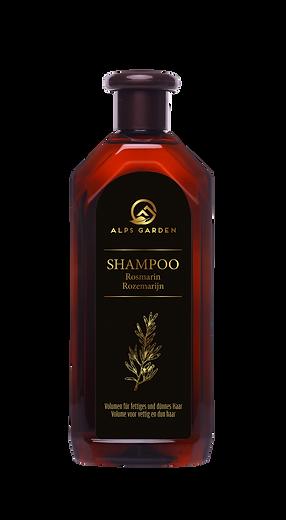 Etiket 500ml Alps Garden Shampoo Rozemar