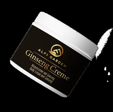 Etiket 250ml Alps Garden Ginseng Creme-m
