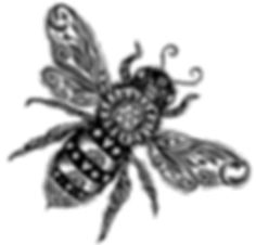 Bee alone BWlores.jpg