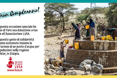 Dona un gesto di solidarietà: Riparazione di un punto d'acqua in Etiopia