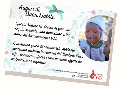 E-card di Natale - Burkina Faso