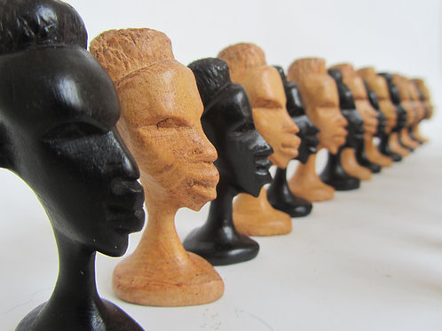 Pedine per scacchi- Tanzania