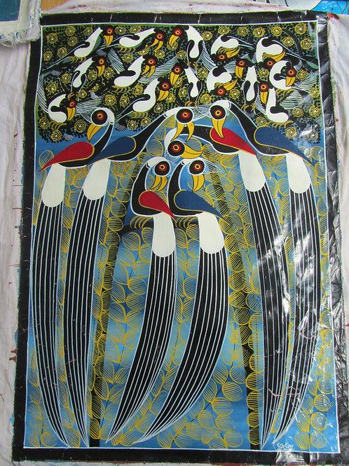 Tinga Tinga multicolore - Tanzania