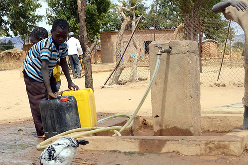 Con 50 euro contribuisci a garantire la corretta gestione delle risorse idriche
