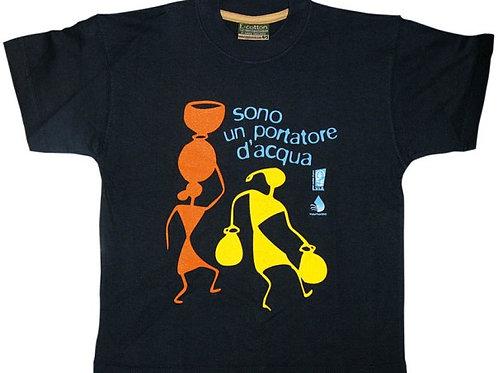 """T-shirt """"Sono un portatore d'Acqua"""""""