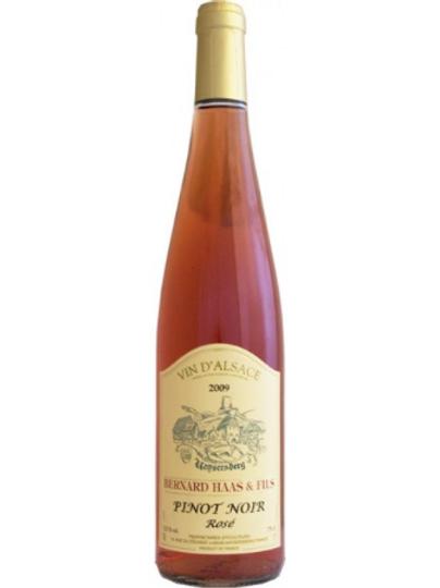Pinot Noir Rosé, Bernard Haas & Fils 2014
