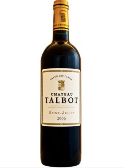 Chateau Talbot, 4eme Grand Cru Classe Saint Julien 2006