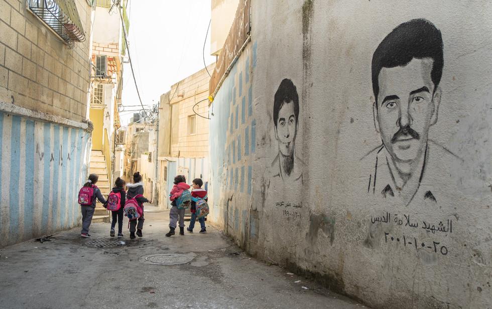 Aida Refugee Camp, Bethlehem, West Bank