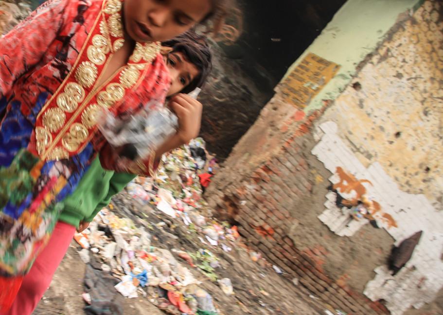Kathpulti Slum, New Delhi, India