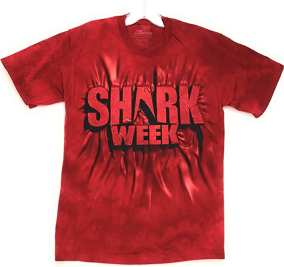 The Mountain - Red shark week inner spirit T-shirt.