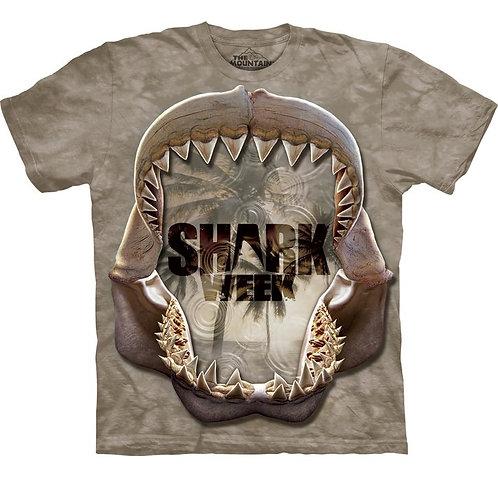 The Mountain Men's 100% Cotton Shark Mono Reflect T-Shirt