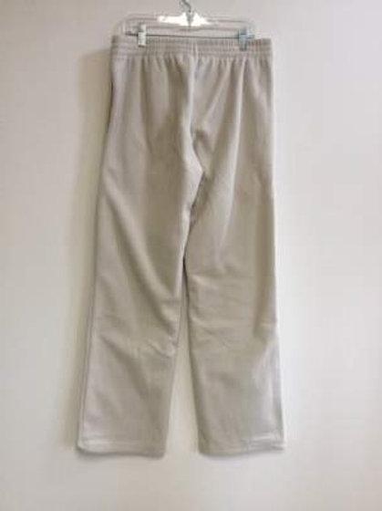 Ladies 100% Polyester Polar Fleece 2 Pocket Pants - Ecru