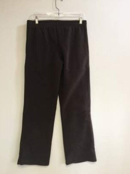 Ladies 100% Polyester Polar Fleece 2 Pocket Pants - Chocolate