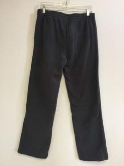 Ladies 100% Polyester Polar Fleece 2 Pocket Pants - Charcoal