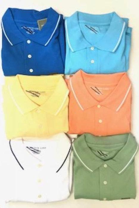 Big Men's 100% Combed Cotton Polo Golf Shirt