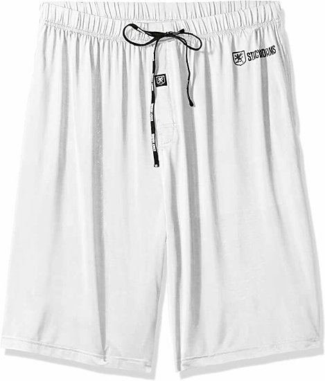 Stacy Adams White Lounge Shorts