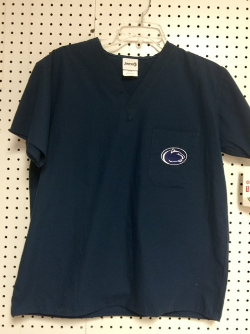 Penn State Nittany College Unisex Scrub Top