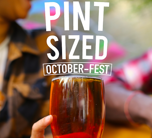 Pint Sized October  fest complete poster