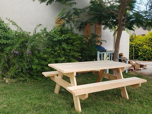 שולחן פיקניק 6-8 אנשים