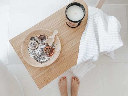 Five-minute DIY Floral Bath Salts