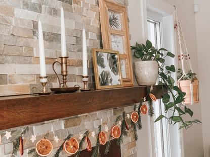 DIY – How to make a dried orange garland