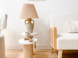 How to make a custom vintage table lamp