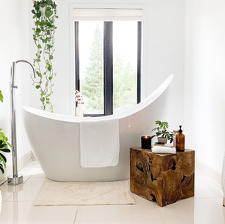 Create a spa bathroom at home - why and how