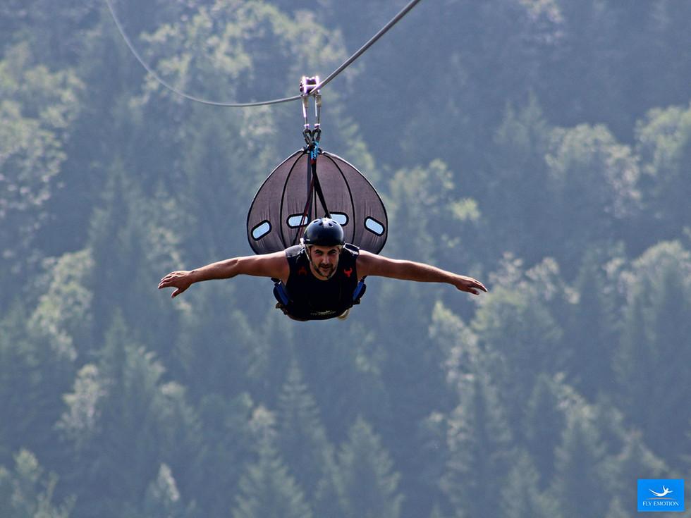 Volare senza ali con Fly Emotion ad Albaredo per S.Marco.