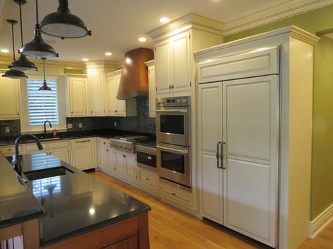 Custom painted kitchen