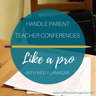 Handle Parent Teacher Conferences Like a Pro