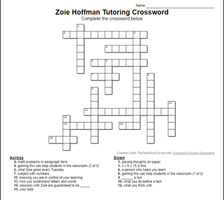 Happy Crossword Puzzle Day!