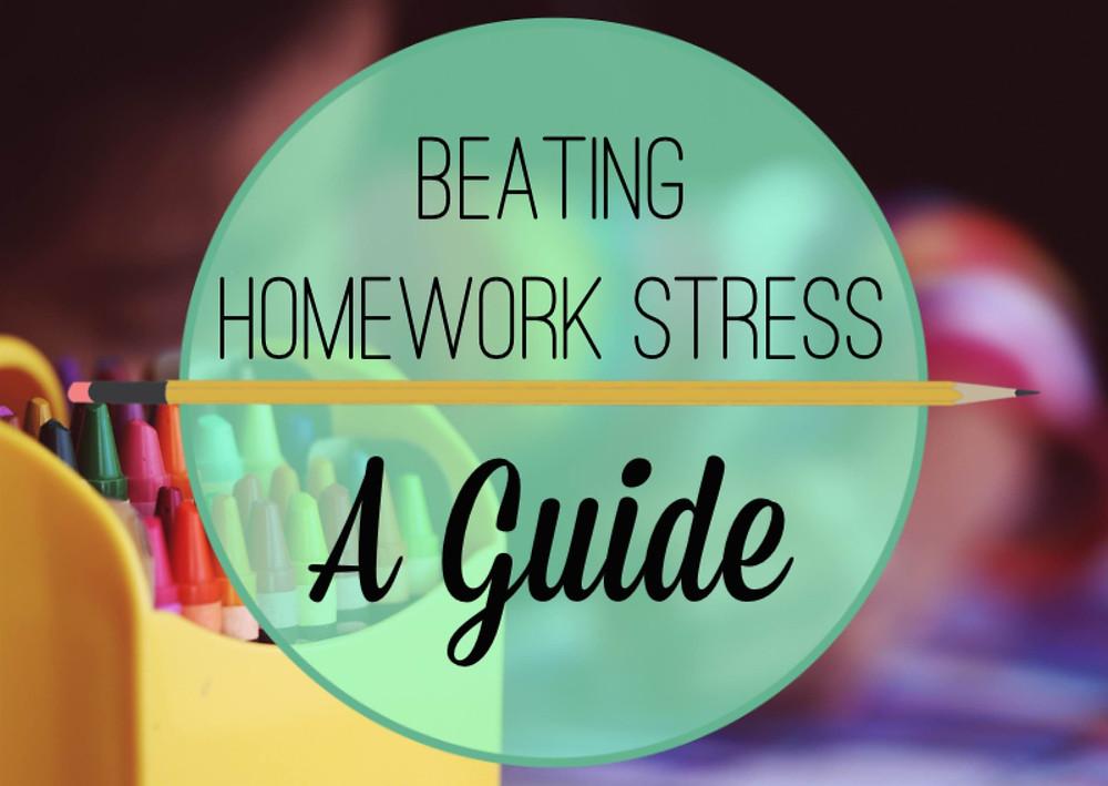 beating homework stress
