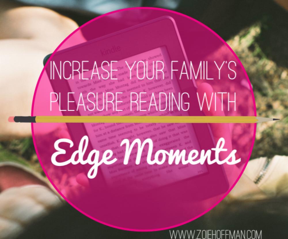 family reading - edge moments