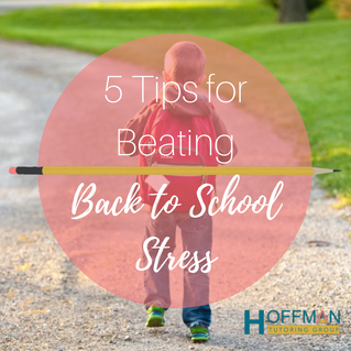5 Tips for Beating Back To School Stress