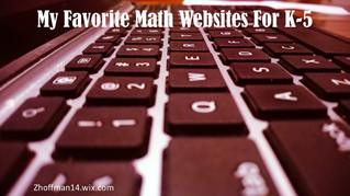 My Favorite Math Websites for K-5