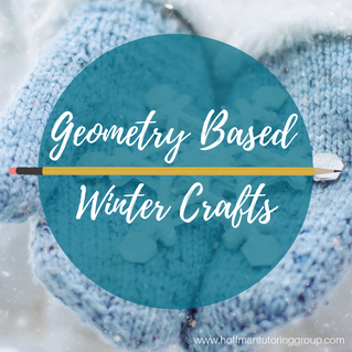 Geometry Based Winter Crafts