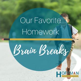 Our Favorite Brain Breaks for Homework Time