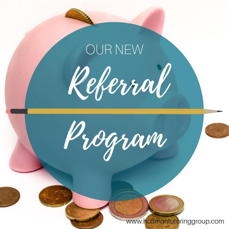 Hoffman Tutoring Group Referral Program