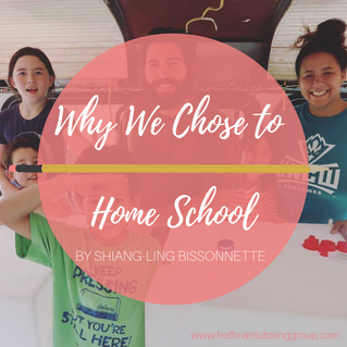 Why We Chose To Home School- Guest Post