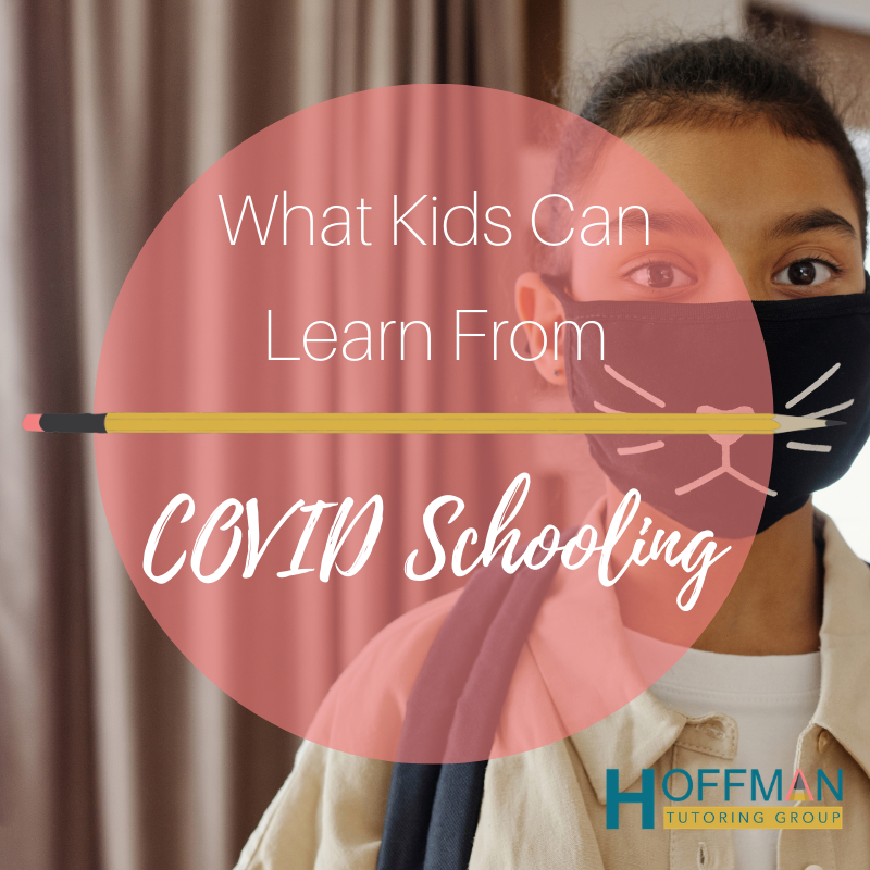 """Kid with Mask """"What kids can learn from COVID schooling"""""""