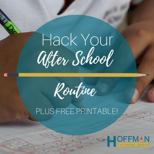 Hack Your After School Routine