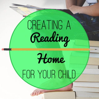 Creating a Reading Home for Your Child