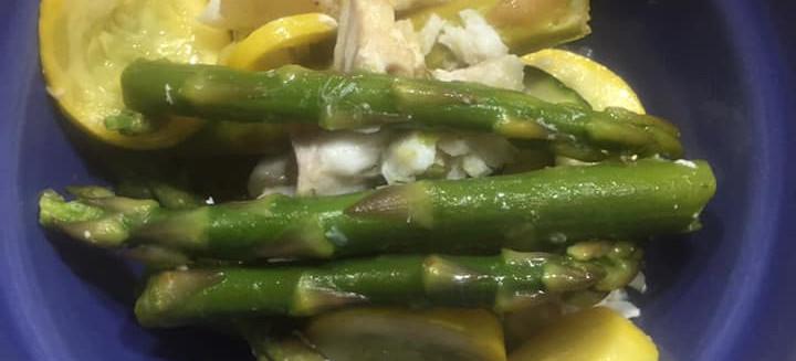Haddock, Asparagus, Squash