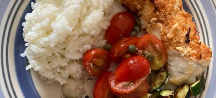 Seared Cod & Zucchini