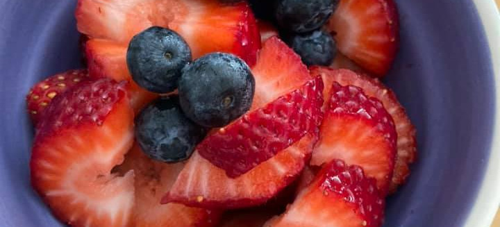 Strawberry/Blueberry Dish