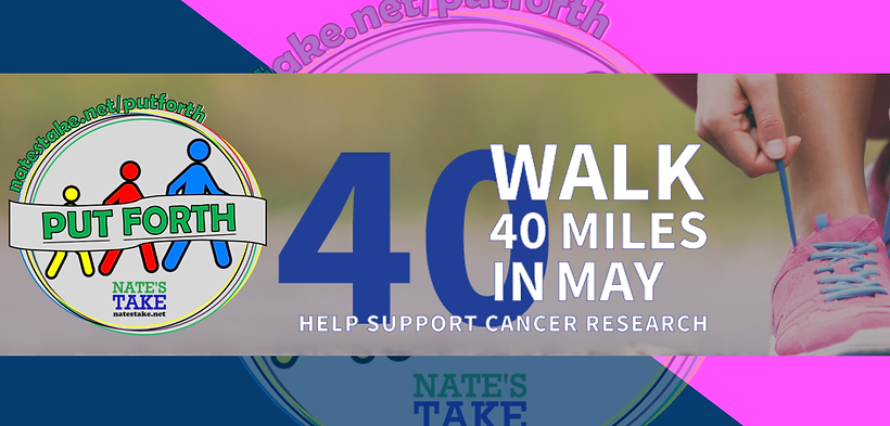 Walk 40 Miles In May